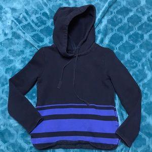 J Crew sz XXS blue Hoodie